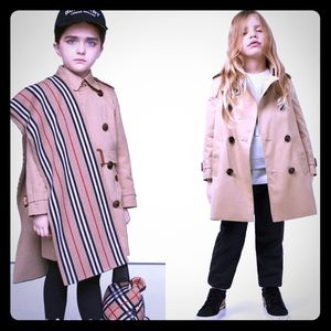 Burberry trench coat boys/girls